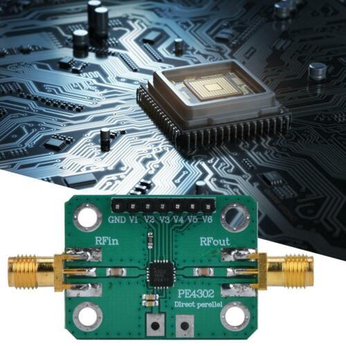 PE4302 6-Bit Digital RF Attenuator Module Abschwächer Board 0.5dB Step 0-31,5dB