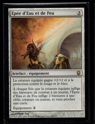 MRM FRENCH Épée d/'eau et de feu Sword of fire and ice MTG magic DST