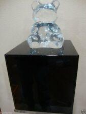 305displays Black 12 X 12 X 16h Art Sculpture Stand Acrylic Pedestal Display