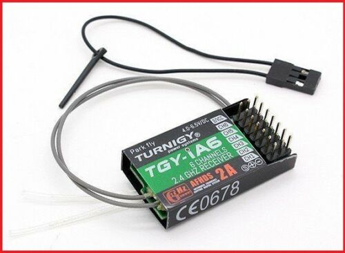 FOR USE WITH TGY-i6 or TGY i4X 2.4Ghz 6 channel Turnigy iA6 receiver