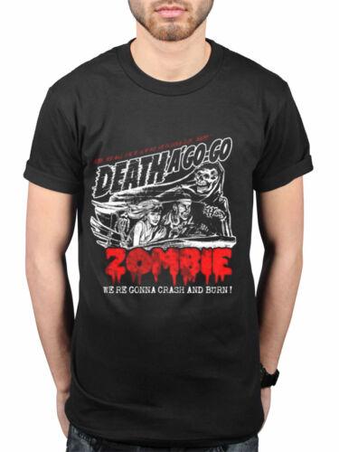 Official Rob Zombie NEW Zombie Crash T-Shirt Rock Merch Slipknot Alice Cooper
