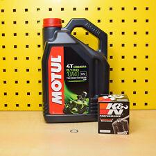 Suzuki GSX-R 1000 Service Öl K&N Ölfilter Motul 5100 10w40 GSXR K1 K2 K3 K4 K5