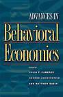 Advances in Behavioral Economics by Princeton University Press (Paperback, 2003)