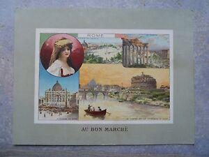 """2-Ancien chromo Au bon Marché """" Rome """" 3EM1qG0w-09160752-309718248"""