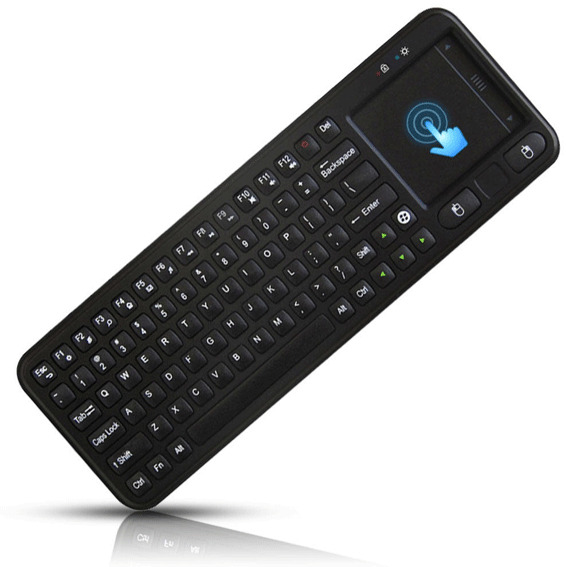 Mini 2.4G Wireless Keyboard with Mouse Touchpad for PC Notebook Smart Android TV