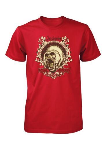 BNWT insigne royal Monkey King Kong d/'impression Haute Qualité Enfants T Shirt 3-15 Ans