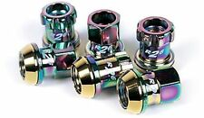 PROJECT KICS R26 NEO CHRONO CHROME LUG NUTS LOCKS HONDA CIVIC ACURA 12X1.5MM