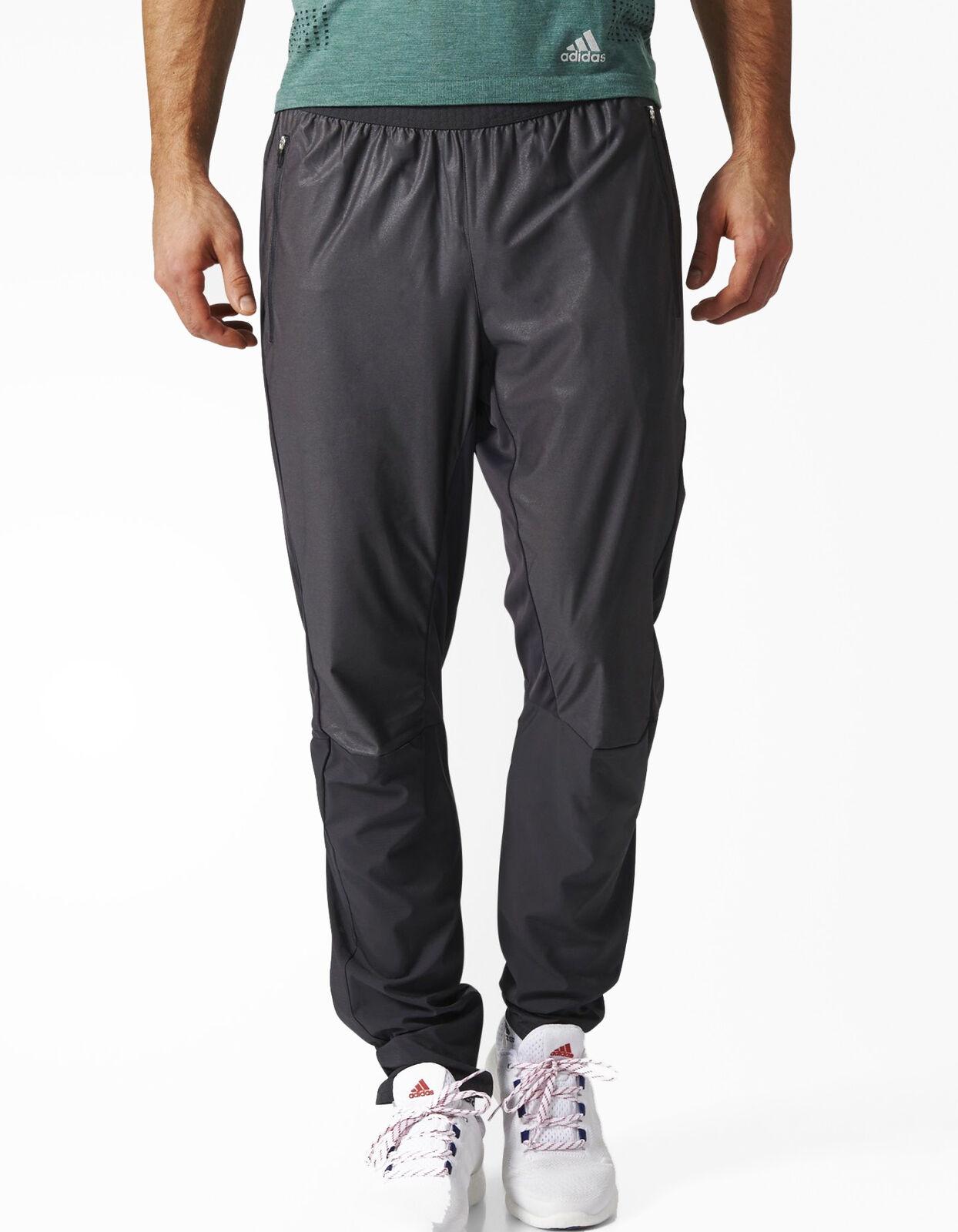 Adidas Adizero Para Hombre  Pantalones de pista-Negro  autorización