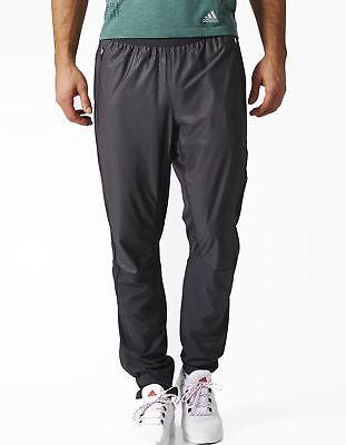 adidas ClimaProof Mens Waterproof Pants Black Rain Pant Overtrouser Trackpants