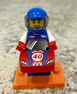 Lego race car guy series 18 unopened new factory sealed