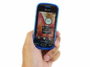 New-AT-amp-T-Samsung-A597-Unlocked-Eternity-II-GSM-Blue-Camera-Touch-Screen-Phone
