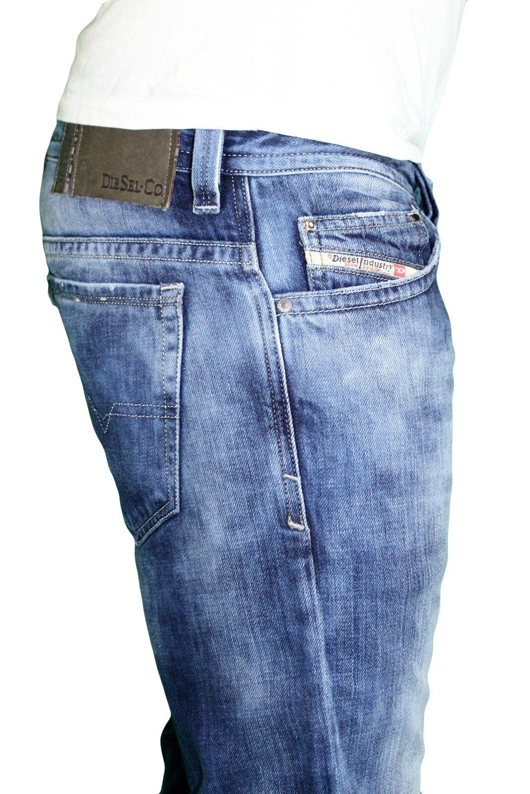 NWT DIESEL Men's Slim Skinny Jeans Thavar 888N Vintage bluee All Size x 32 L
