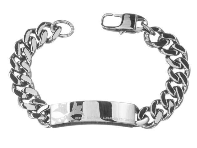 6cbfcd59cbd4e GUESS Bracelet/bracelet Umb81004 (stainless Steel Band) Mens Jewellery