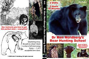 Dr-Ken-Nordberg-039-s-Bear-Hunting-School-2-Disc-DVD-Set