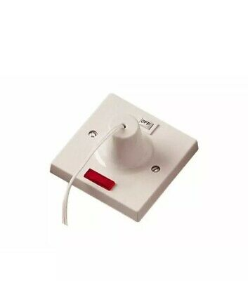 SHOWER PULL CORD SWITCH D/ POLE BATHROOM EXTRACTOR FAN ...