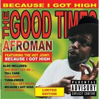 "AFROMAN "" BECAUSE I GET HIGH "" NEW UK LP RE-ISSUE *** COLOURED VINYL ***"