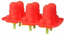 Dexam Silicone Set of 6 Jelly Baby Ice Lolly Cream Molds Moulds 17841455