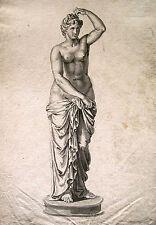 Unbekannt (bez Jacob de Wit) / Tuschezeichnung weiblicher Akt (Venus?) Lugt 2732