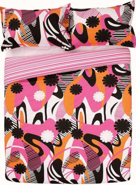 MONTE CARLO PinkDOUBLE Size Quilt Doona Cover Set