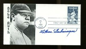 Charles-Gehringer-Signed-Babe-Ruth-FDC-Autographed-Detroit-Tigers-56190