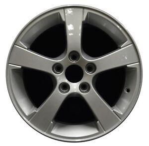 16-034-Saab-9-3-2003-2004-2005-2006-2007-Factory-OEM-Rim-Wheel-68255-Silver