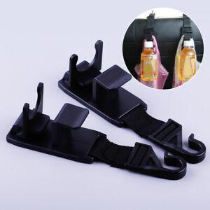2 x Kopfstützenhaken Auto Kleiderhaken Kopfstütze Kleiderbügel Taschenhalter KFZ