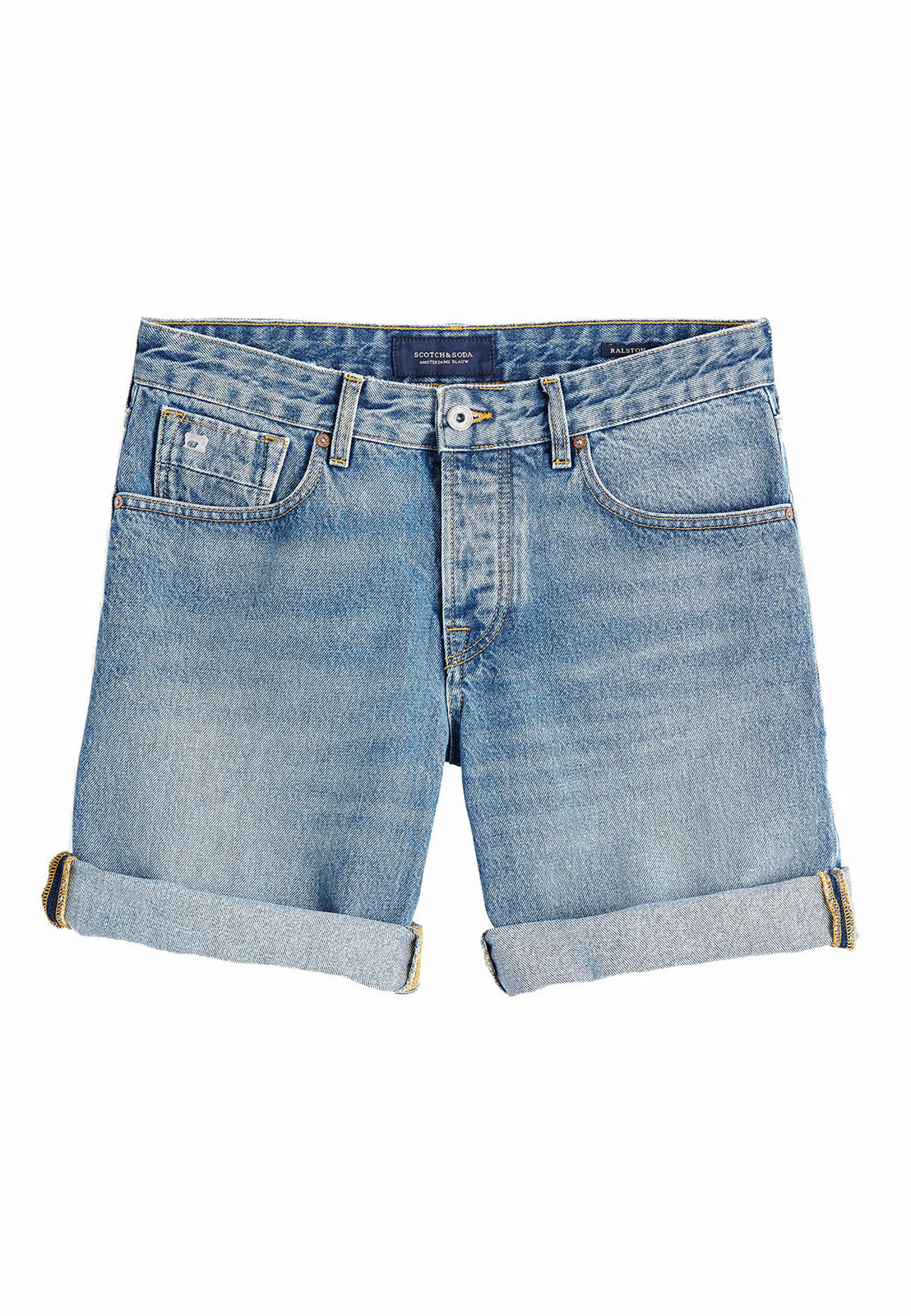Scotch&Soda men Pantalones Cortos Ralston 148670 blue Claro 2615 Su