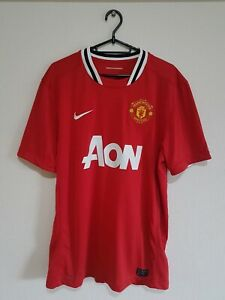 Manchester United Shirt 2011/2012 Home Red - Large - Man United Utd Nike Jersey
