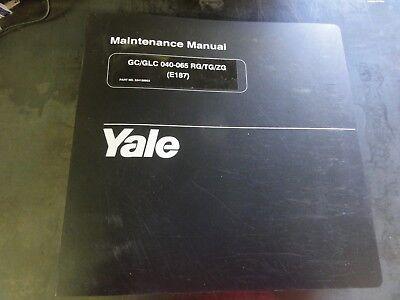 Yale Maintenance GC//GLC 030-040 AF//BF 1596 4//95