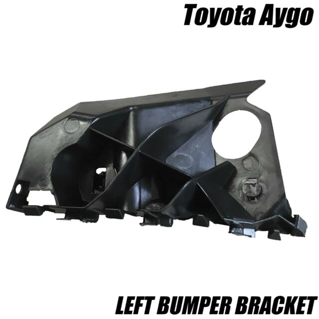 PASSENGER SIDE FRONT LEFT BUMPER BRACKET TRIM MOULDING FOR TOYOTA AYGO 2005-2014
