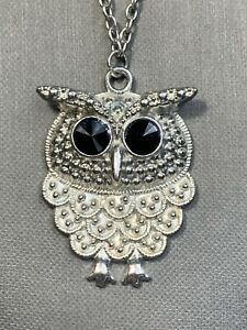 Vintage-Bohemian-Crystal-Owl-Charm-Spirit-Animal-Boho-Pendant-Necklace-26