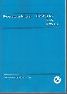 Réfection Instructions/Manuel BMW r 45 et 65 également ls; r45 r65 r65ls NEUF  </span>