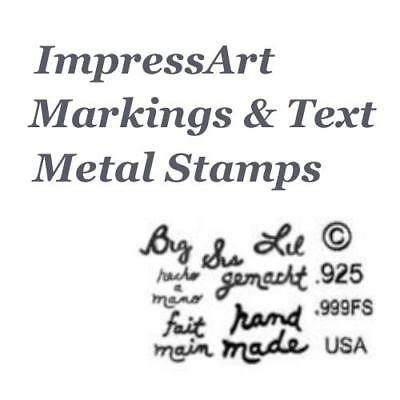 ImpressArt Animals /& Insects Theme Metal Stamp Punches Stamping Choose Design