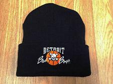Retro Vintage Detroit Pistons Bad Boys Beanie Toque Winter Hat Cap 8990 Snapback