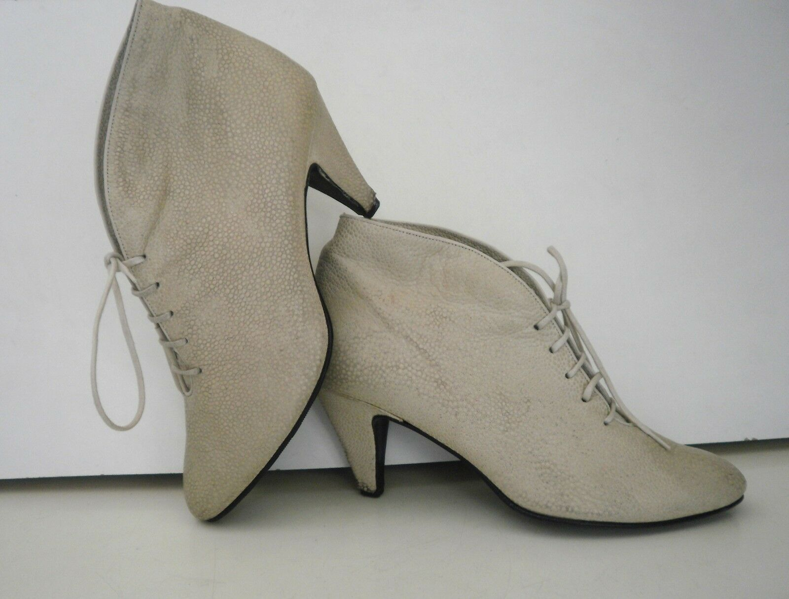 SchürStiefelette Damen Boots TRUE VINTAGE Schuhe ankle boot beige Stiefelette