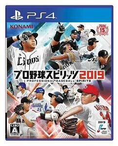 Konami-PS4-Professional-Baseball-Spirits-2019-PlayStation-4-Video-Game-Sports