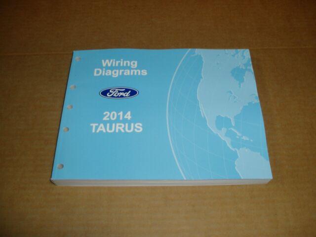 2014 Ford Taurus Wiring Diagram Service Shop Dealer Repair