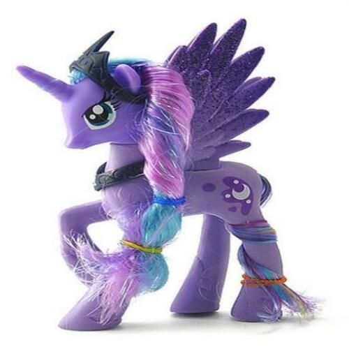 14cm My Little Pony Princess Luna Sparkling Unicorn Action Figure Kids Toys