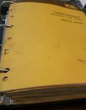 Fiat Allis 16b Hd 16 Crawler Tractor Repair Shop Service Manuals Complete