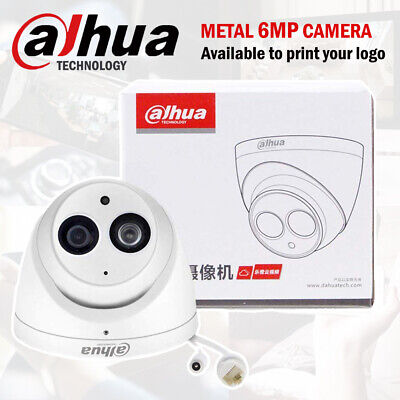 DAHUA 6MP IP EYEBALL IPC-HDW4631C-A H.265 DOME MIC AUDIO NETWORK SECURITY CAMERA