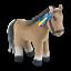 White-House-Exclusive-Horse-Macaroni-Kennedy-JFK-Plush-Toy-Figure-Rare thumbnail 1