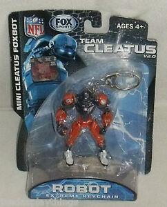 Fox-Sports-Foxbot-Llavero-Denver-Broncos-3-034-Robot-Cleatus-2012-Nuevo-Sellado