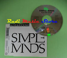 CD singolo Simple Minds Alive & Kicking Virgin THEME 11 UK 1990 no lp mc(S19)