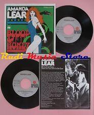 LP 45 7''AMANDA LEAR Blood & honey She's got the devil in her eyes no cd mc dvd
