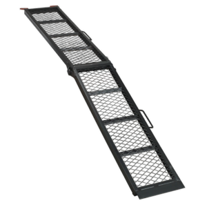 Steel Mesh Folding Loading Ramp 360kg Capacity   SEALEY MR360 by Sealey   New