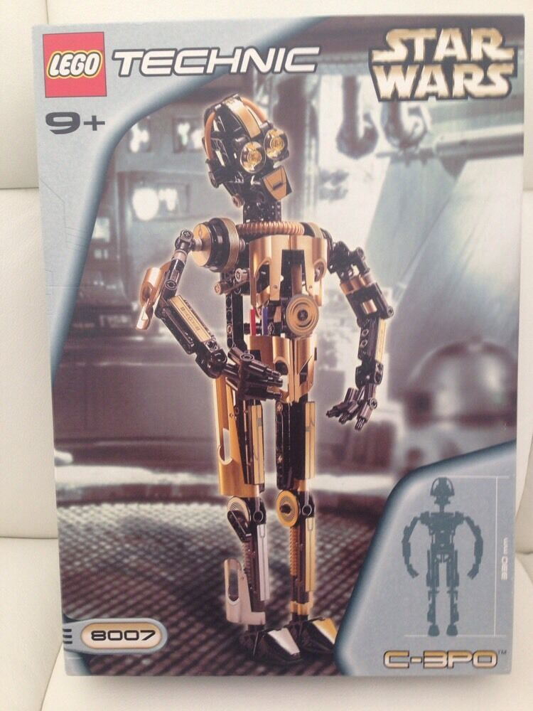 LEGO Technic Star Wars 8007: C-3PO. Free Shipping. Brand New. Sealed Rare!