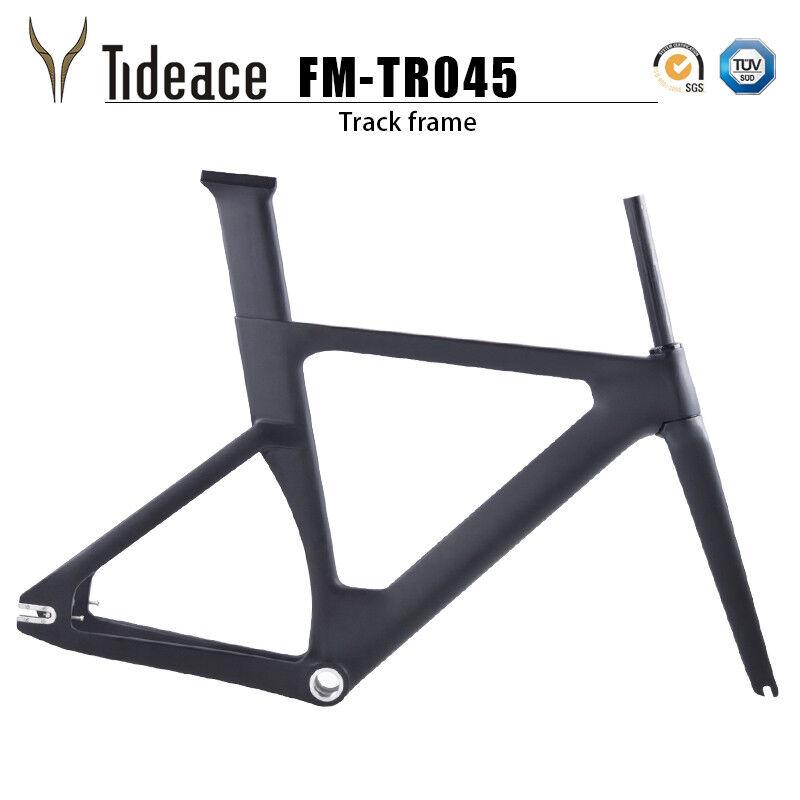 Fibra de Cochebono Bicicleta de pista BSA FG Marcos T800 Mate Marcos de Ciclismo Bicicleta
