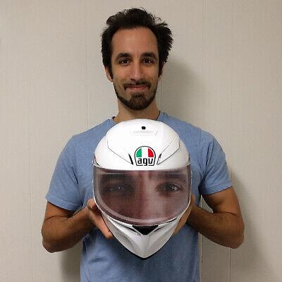 Spider-Man Eyes Mask Helmet Visor Sticker Bike Motorcycle Shield Decal Tint