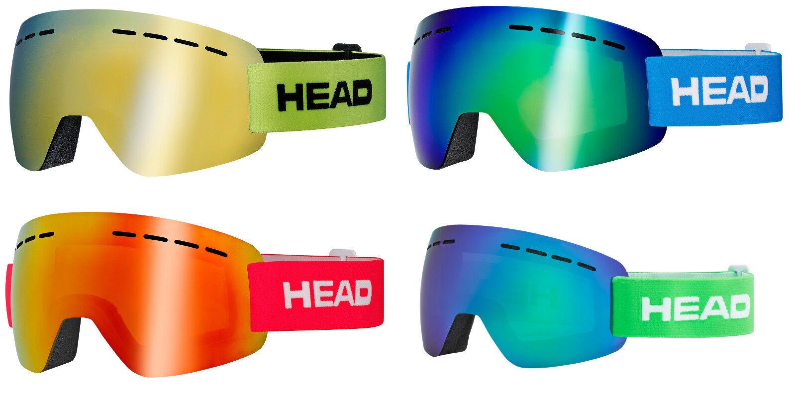 HEAD SOLAR SOLAR HEAD FMR Skibrille Snowboardbrille Collection 2019 - NEU 0f7043