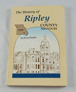 History-of-Ripley-County-Missouri-by-Jerry-Ponder-1987-Paperback-AA2O1